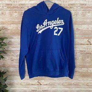Los Angeles Dodgers Matt Kemp Jersey Hoodie